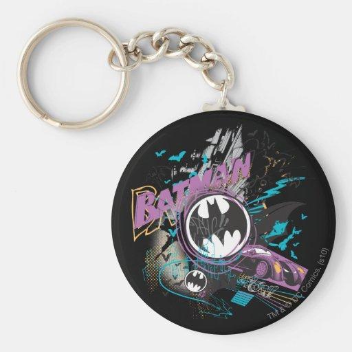Croquis d'horizon de Batman Gotham Porte-clé