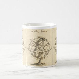 Croquis d'original de sphère armillaire mug