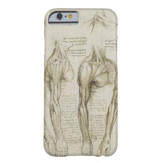 Croquis humains d'anatomie du bras de da Vinci Coque iPhone 6 Barely There