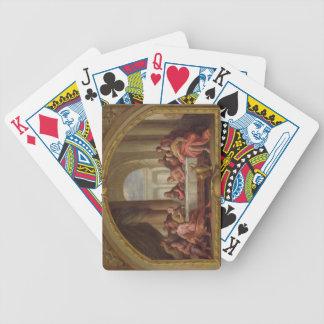 """Croquis pour """"le dernier dîner"""", St Mary, Weymouth Jeu De Poker"""
