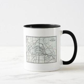 Croquis topographique du ruisseau de Hackney Mug
