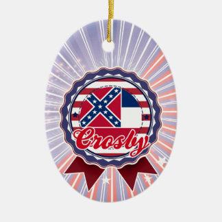 Crosby, milliseconde décoration pour sapin de noël