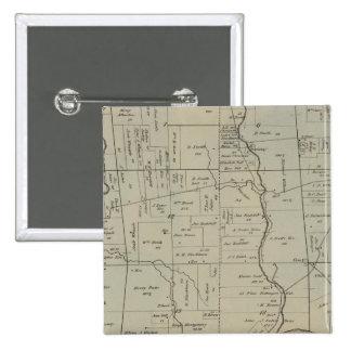 Crosby, Ohio Badge Carré 5 Cm