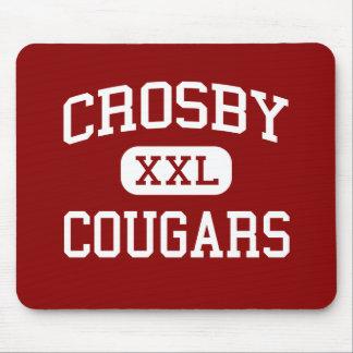 Crosby - pumas - lycée - Crosby le Texas Tapis De Souris