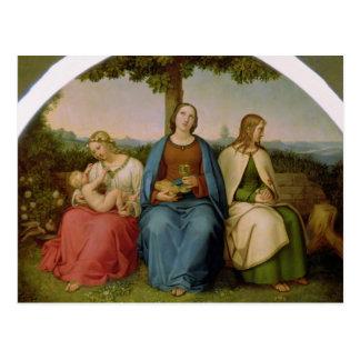 Croyance, espoir et amour, 1819 carte postale