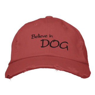 Croyez au casquette de CHIEN