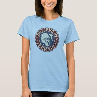 Croyez au T-shirt de Bernie (bleu-clair)