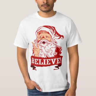 Croyez en père noël t-shirt