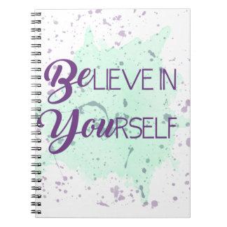 Croyez en vous-même carnet