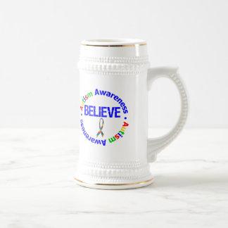 Croyez l'autisme de ruban de puzzle mugs