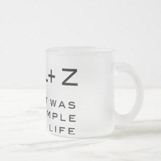 Crtl Z mug