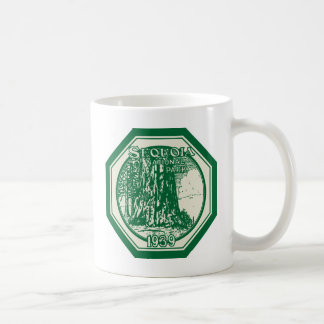Cru 1939 de parc national de séquoia mug