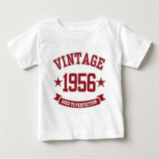 Cru 1956 âgé à la perfection t-shirt pour bébé