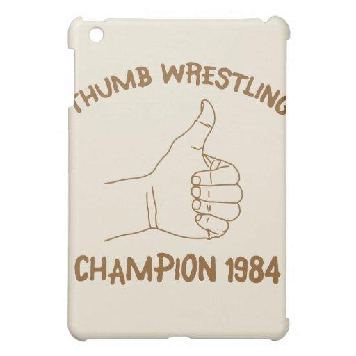 Cru 1984 de lutte de champion de pouce coques pour iPad mini