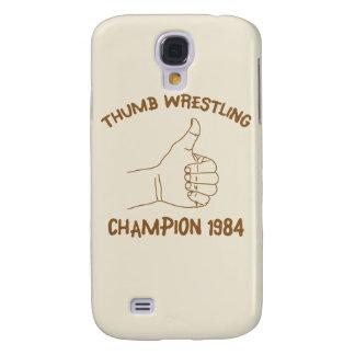 Cru 1984 de lutte de champion de pouce coque galaxy s4