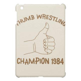 Cru 1984 de lutte de champion de pouce coque pour iPad mini