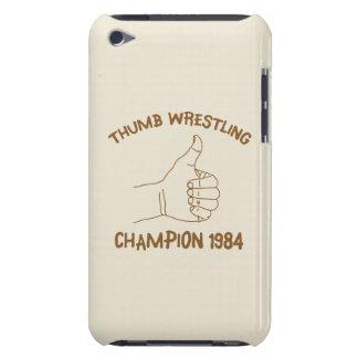 Cru 1984 de lutte de champion de pouce coques iPod touch