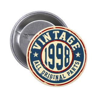 Cru 1998 toutes les pièces d'original badge