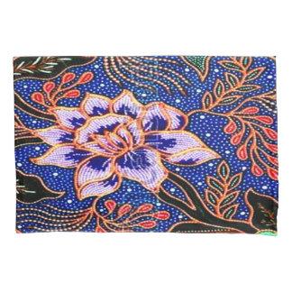 Cru, batik indonésien housse d'oreillers