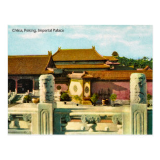 Cru, Chine, Pékin, palais impérial Carte Postale