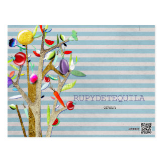 CRU d'aquarelle de légume Carte Postale