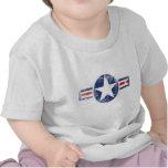 Cru de corps d'air d'armée t-shirts