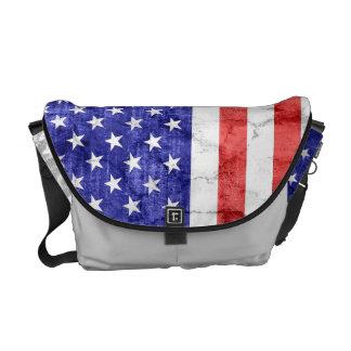 Cru de drapeau américain besace