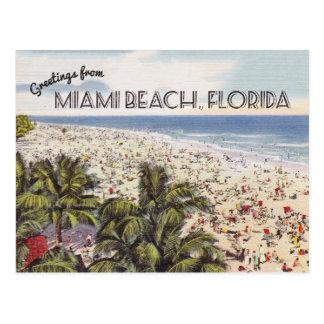 Cru de la carte postale | de Miami Beach la