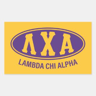 Cru de l'alpha | de Chi de lambda Sticker Rectangulaire