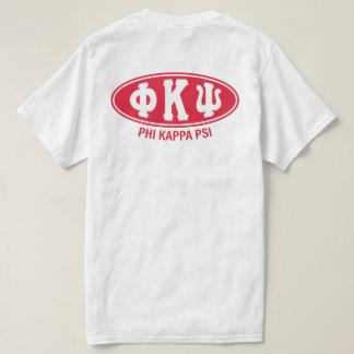 Cru de livre par pouce carré | de Kappa de phi T-shirt