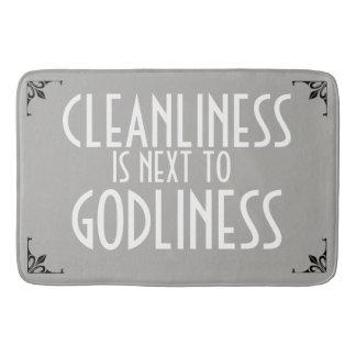 Cru de piété de propreté de tapis de bain de MEME