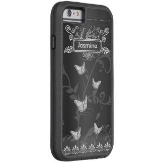 Cru de tableau de papillons de cas d'Iphone 6/6s Coque Tough Xtreme iPhone 6