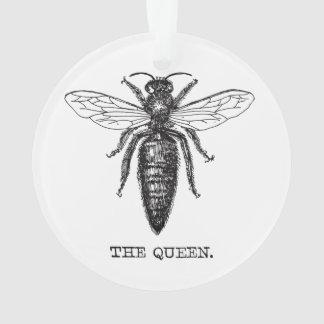 Cru d'illustration de reine des abeilles