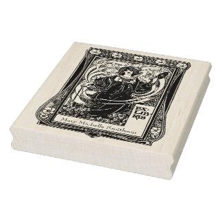 Cru Ex-Libris personnel de timbre chic