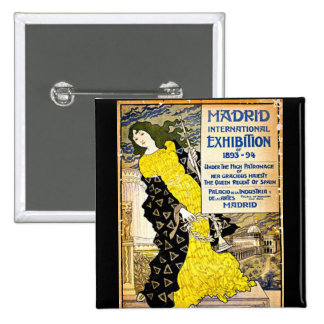 Cru : Exposition internationale de Madrid, 1893-94 Badges