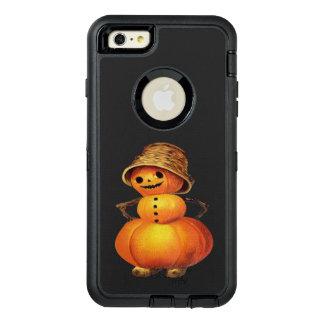 Cru Halloween de bonhomme de neige de citrouille Coque OtterBox iPhone 6 Et 6s Plus