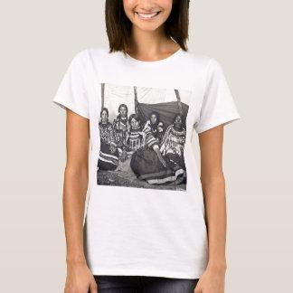Cru indien Stereoview de dames de Blackfeet T-shirt