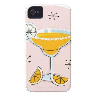 Cru mignon de cocktail de margarita d'or coques iPhone 4 Case-Mate