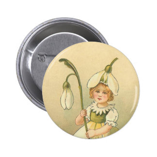 Cru mignon de demoiselle de honneur de Pâques Badge Rond 5 Cm
