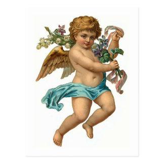 Cru Pâques d'ange de Pâques Cartes Postales