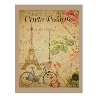 Cru parisien avec Tour Eiffel Carte Postale