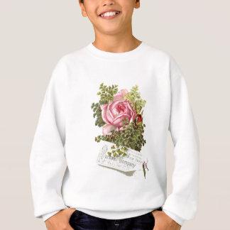 Cru-pinkrose-advetisement Sweatshirt