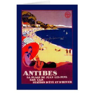 Cru PosterEurope d'Antibes Carte De Vœux