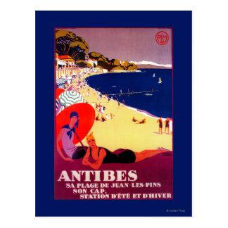 Cru PosterEurope d'Antibes Carte Postale