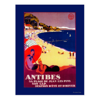Cru PosterEurope d'Antibes Cartes Postales