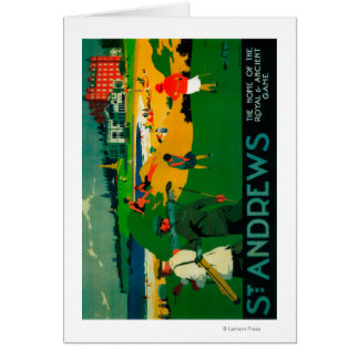 Cru PosterEurope de Saint Andrews Cartes