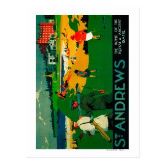 Cru PosterEurope de Saint Andrews Cartes Postales