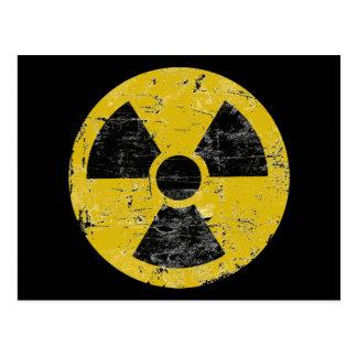 Cru radioactif cartes postales