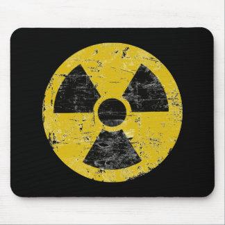 Cru radioactif tapis de souris