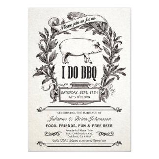 Cru suprême je fais des invitations de BBQ